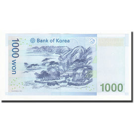 Banknote, South Korea, 1000 Won, Undated (2007), KM:54a, UNC(65-70)