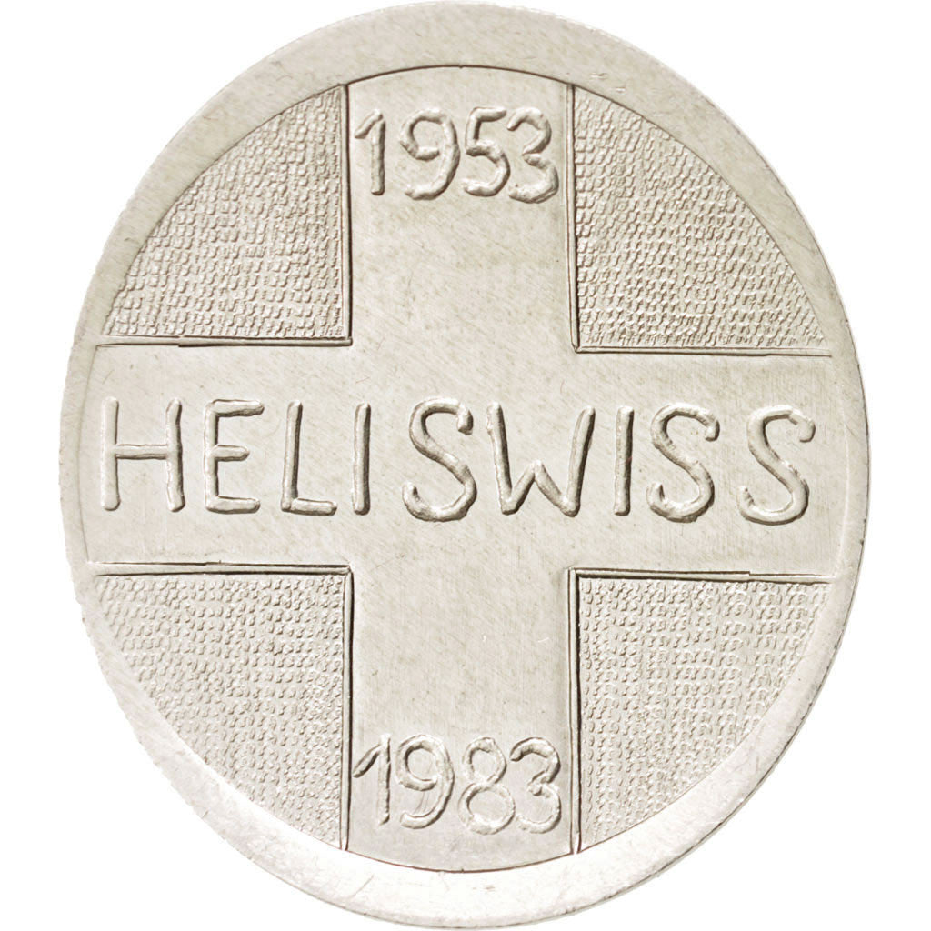 30th anniversary of Heliswiss society, Token