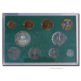 Coin, France, Set, 1989, Paris, MS(65-70), Gadoury:page 288