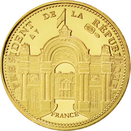France, Medal, The Fifth Republic, Politics, Society, War, MS(65-70), Gold