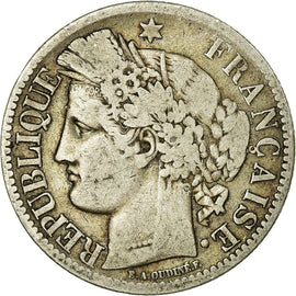 Coin, France, Cérès, 2 Francs, 1850, Paris, F(12-15), Silver, KM:760.1