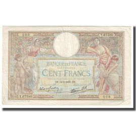 France, 100 Francs, 1939, P. Rousseau and R. Favre-Gilly, 1939-09-14, EF(40-45)