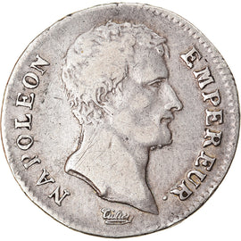 Coin, France, Napoléon I, Franc, AN 13, Paris, VF(30-35), Silver, KM:656.1