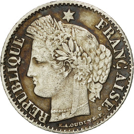 Coin, France, Cérès, 20 Centimes, 1850, Bordeaux, EF(40-45), Silver, KM:758.3