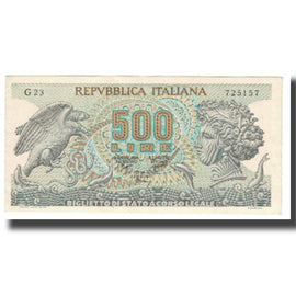 Banknote, Italy, 500 Lire, 1970, 1970-02-23, KM:93a, EF(40-45)