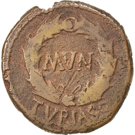 As, Turiaso, VF(20-25), Bronze, 10.90