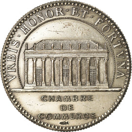 France, Token, Chamber of Commerce, Chambre de Commerce de Nantes, AU(50-53)