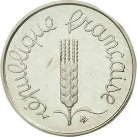 Coin, France, Centime, 1980, MS(65-70), Silver, KM:P654, Gadoury:4.P2
