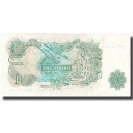 Banknote, Great Britain, 1 Pound, Undated (1971), KM:374g, UNC(65-70)