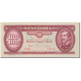 Banknote, Hungary, 100 Forint, 1984, 1984-10-30, KM:171g, EF(40-45)