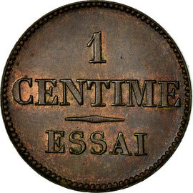 Coin, France, 1 Centime, AU(55-58), Bronze, Gadoury:80