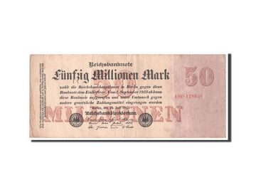 Banknote, Germany, 50 Millionen Mark, 1923, VF(30-35)