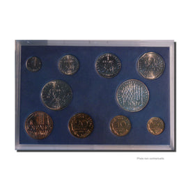 Coin, France, Set, 1987, MS(65-70), (No Composition), Gadoury:page 288