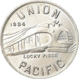 United States of America, Token, Union Pacific Train, Aluminium oCo. of America