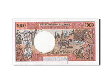 Banknote, French Pacific Territories, 1000 Francs, 2003, UNC(65-70)