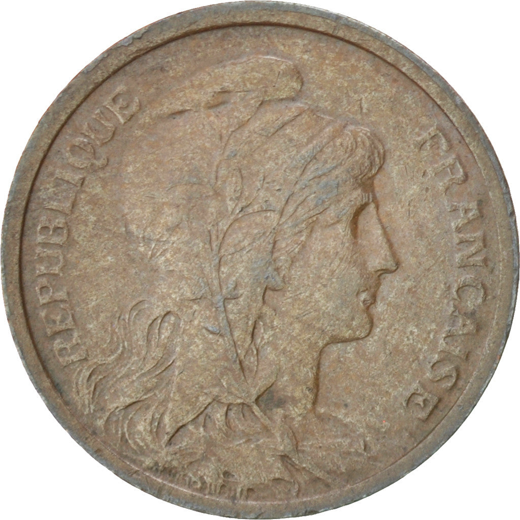 Coin, France, Dupuis, Centime, 1916, Paris, EF(40-45), Bronze, KM:840
