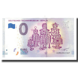 Germany, Tourist Banknote - 0 Euro, Germany - Berlin - Deutches Technikmuseum