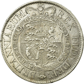 Coin, Great Britain, George III, 1/2 Crown, 1820, AU(50-53), Silver, KM:672