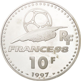 Coin, France, 10 Francs, 1997, MS(65-70), Silver, KM:1164