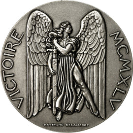 France, Medal, Seconde Guerre Mondiale, Victoire du 8 Mai 1945, MS(63), Silvered