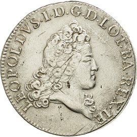 Coin, FRENCH STATES, LORRAINE, Leopold I, Léopold Ist, Double Teston, 1718