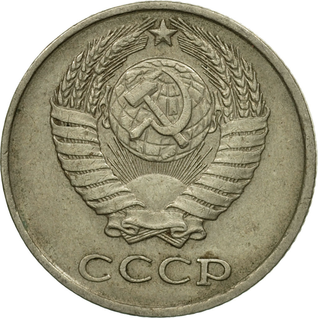Coin, Russia, 10 Kopeks, 1978, Saint-Petersburg, VF(20-25), Copper-Nickel-Zinc