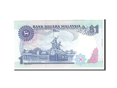 Banknote, Malaysia, 1 Ringgit, 1989, Undated, KM:27A, UNC(63)