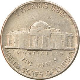 Coin, United States, Jefferson Nickel, 5 Cents, 1981, U.S. Mint, Denver