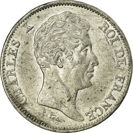 Coin, France, 40 Francs, 1824, AU(55-58), Pewter, Gadoury:1103