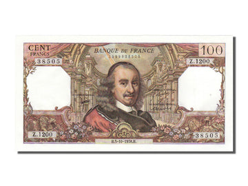Banknote, France, 100 Francs, 100 F 1964-1979 ''Corneille'', 1978, 1978-10-05