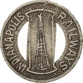 United States, Indianapolis Railways, Token