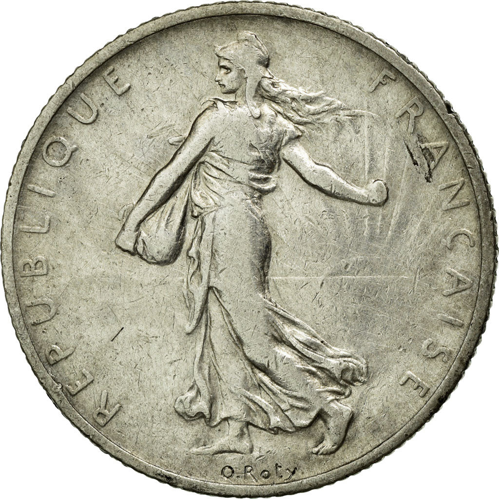 Coin, France, Semeuse, 2 Francs, 1902, Paris, EF(40-45), Silver, Gadoury:532