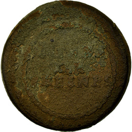 Coin, France, 5 Centimes, 1820, F(12-15), Bronze