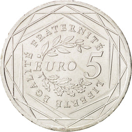 Banknote, France, 5 Euro, 2008, MS(63), Silver, KM:1534