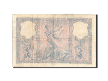 France, 100 Francs, 100 F 1888-1909 ''Bleu et Rose'', 1989, KM:65a, 1989-09-2...