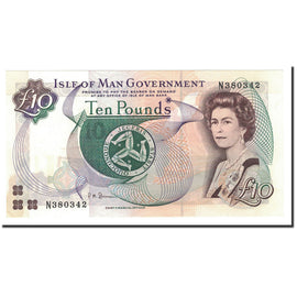 Banknote, Isle of Man, 10 Pounds, 1998, KM:44b, UNC(65-70)