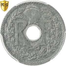 Coin, France, 10 Centimes, 1941, Paris, PCGS, MS64, MS(64), Zinc, KM:897