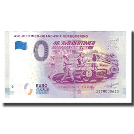 Germany, Tourist Banknote - 0 Euro, Germany - Nürburg - AvD OldTimer Grand Prix
