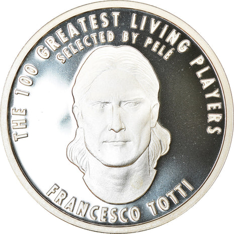 Italy, Medal, The 100 Greatest Living Players selected by Pelé, Totti