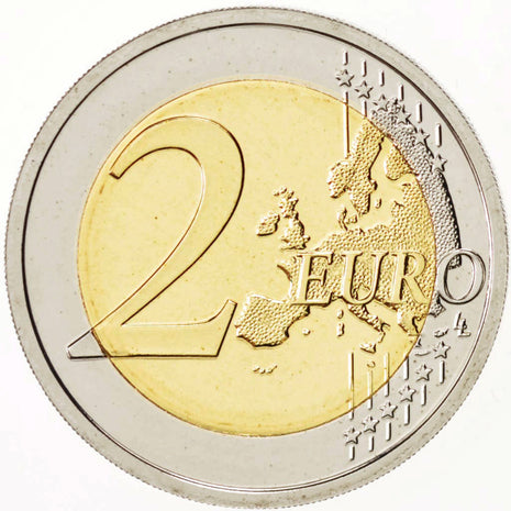 Belgium, 2 Euro Women's Day 2011, Brussels, KM:308, MS(65-70), Proof