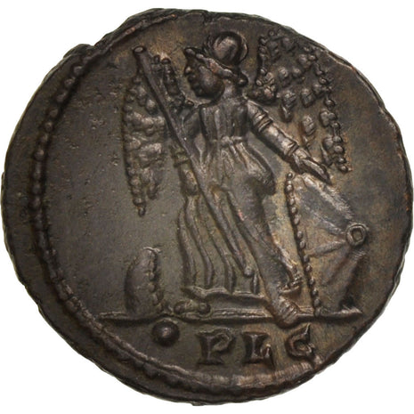 City Commemoratives, Follis, Lyons, MS(63), Bronze, RIC:246