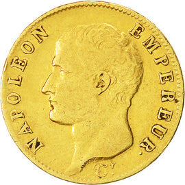 Coin, France, Napoléon I, 20 Francs, 1806, Paris, VF(30-35), Gold, KM:674.1