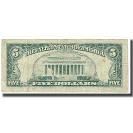 Banknote, United States, Five Dollars, 1977, VF(20-25)