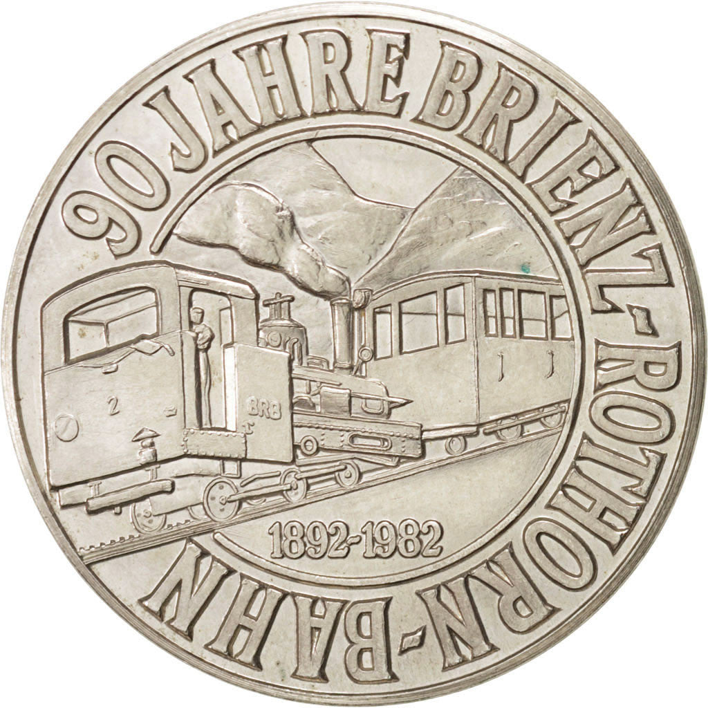 90th Brienz-Rothorn-Bahn railway line anniversary