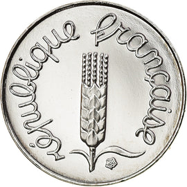 Coin, France, Épi, Centime, 2001, Paris, Proof, MS(65-70), Stainless Steel