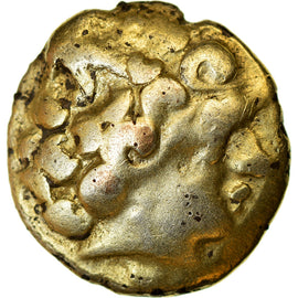 Coin, Groupe de Normandie, 1/4 Stater, 3rd-2nd century BC, EF(40-45), Electrum