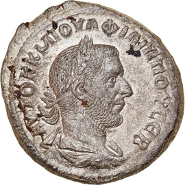 Coin, Seleucis and Pieria, Philip I, Tetradrachm, 244-249, Antioch, AU(50-53)