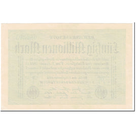 Banknote, Germany, 50 Millionen Mark, 1923, 1923-09-01, KM:109b, UNC(65-70)