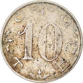 Coin, France, C.G.T.E., 10 Centimes, VF(30-35), Maillechort