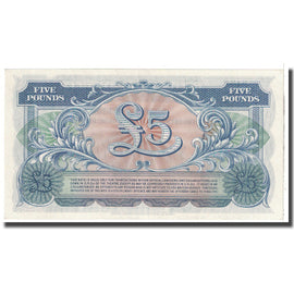 Banknote, Great Britain, 5 Pounds, 1958, KM:M23, UNC(65-70)